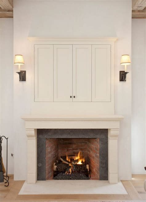 cabinet for tv over fireplace tv over fireplace design ideas