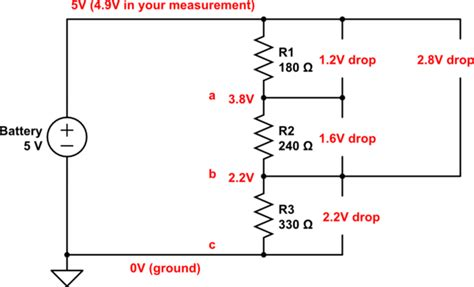 1k resistor voltage drop 1k resistor voltage drop 28 images basic electronics 1a learning electronics working