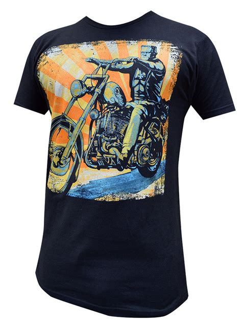T Shirt Rock In Riders Clothing mens eerie rider t shirt from lowbrow