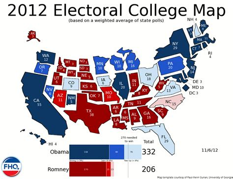 college map frontloading hq the electoral college map 11 6 12 election day