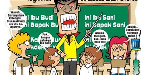 gambar gambar karikatur pendidikan terbaru unik  lucu