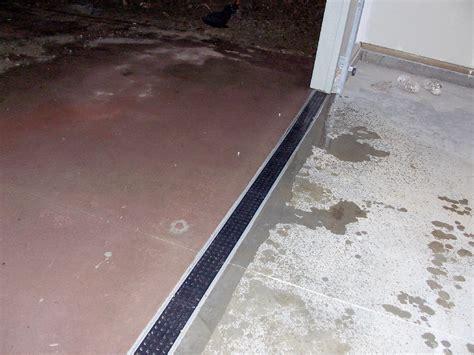 Drain In Front Of Garage Door Drain In Front Of Garage Door Recessed Drain Cover Polley Garden Design Trench Drain Drainage