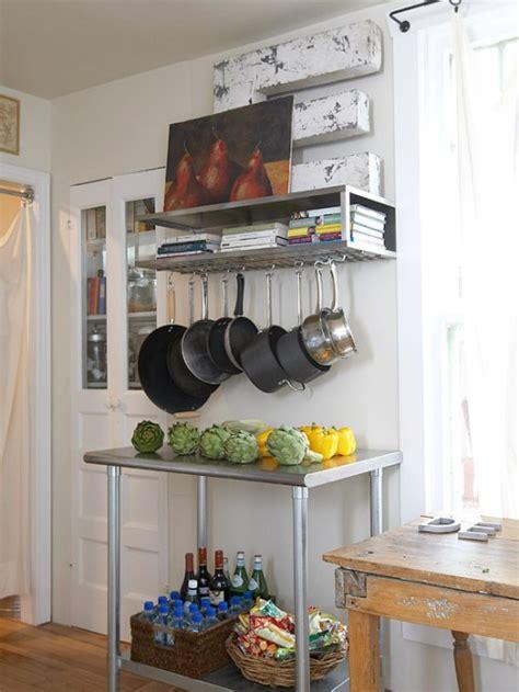 blank kitchen wall ideas 15 ideas creativas de organizar ollas y sartenes en su