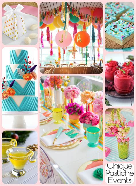 birthday themes summer vibrant summer birthday party idea for her unique