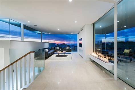 beach house salon maison contemporaine en bord de mer en australie construire tendance