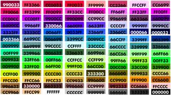 color code finder cgb color codes