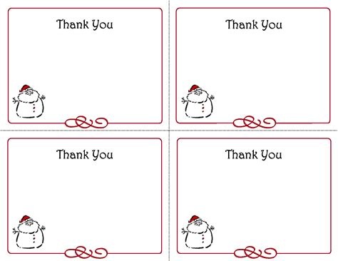 Thank You Card Tag Template by Printable Thank You Card Templates Thank You