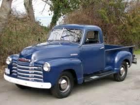 Chevrolet Truck History 1949 Chevy Truck