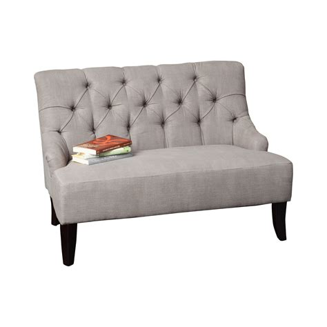 wayfair settee alcott hill lynnhaven settee reviews wayfair