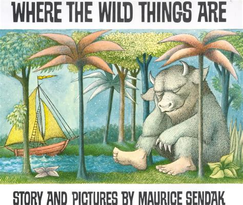 where the things are book pictures where the things are maurice sendak remembered