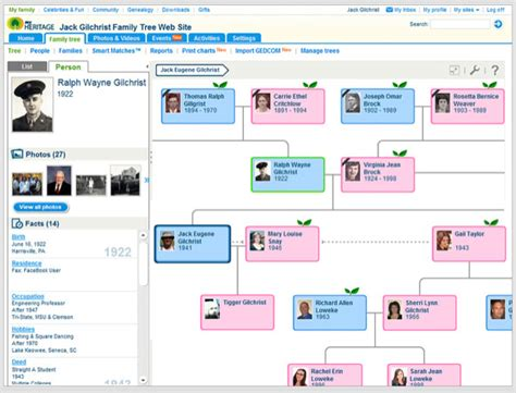 site tree generator how to build your family tree with myheritage