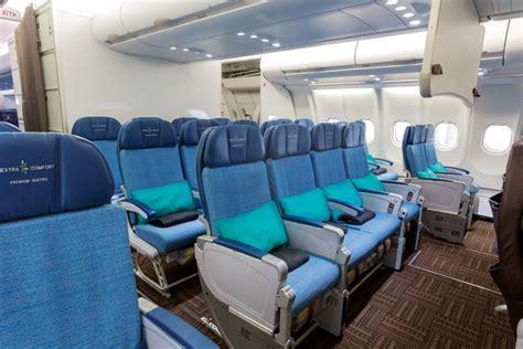 comfort seating china hawaiian airlines bolsters international network