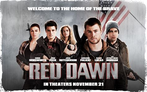 red awn red dawn 2012