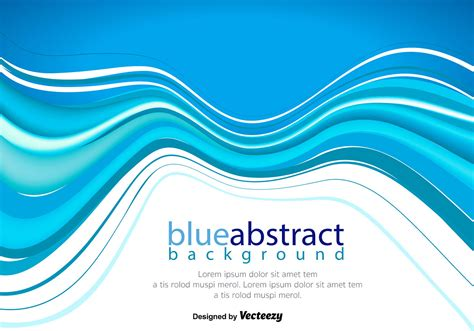 blue abstract wallpaper vector vector abstract blue wave background download free