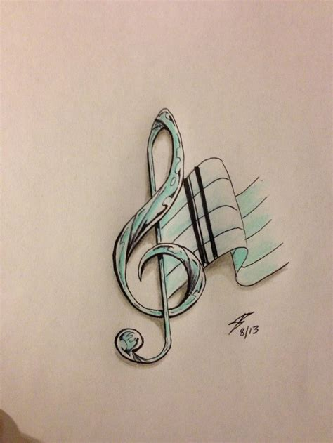 music star tattoo designs 26 best blue and notes images on
