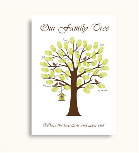 printable family tree guest book diy family tree guest book printable pdf digital