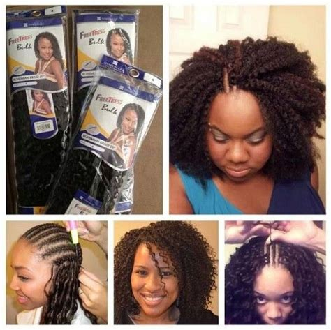 show me latch hook and sew n hair style combine braids 164 twist natural hair protective styles