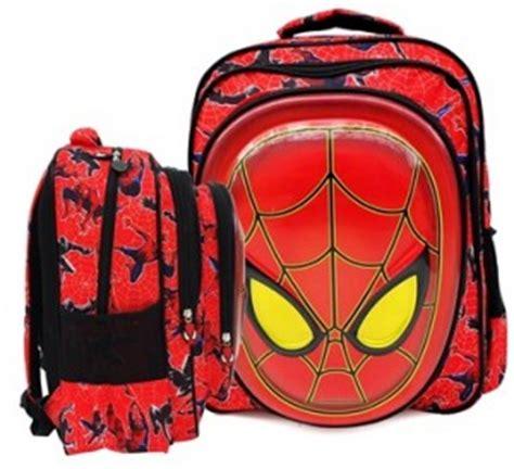 Tas Karakter Avenger Iron Muka 3d Timbul Jpg Lb Untuk Anak Tk tas sekolah untuk anak sd toko bunda