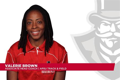 valerie brown facebook apsu lady govs track and field s valerie brown elevated to