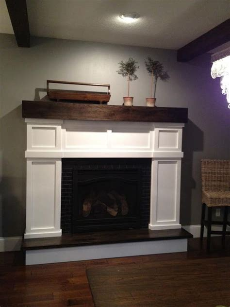 build a fireplace how to build a faux fireplace surround fireplace