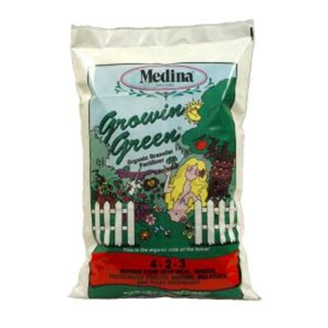 Fertilizer Home Depot by Medina Growin Green 40 Lbs Organic Fertilizer 100046974