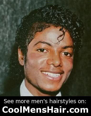Michael Jackson Hairstyle by Michael Jackson American Jheri Curl Hairstyle