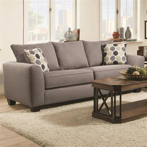 futons wilmington nc albany 0416 queen sofa sleeper with track arms furniture