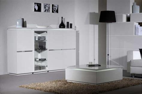 meuble de salle a manger blanc table salle a manger design blanc laque 3 meuble de