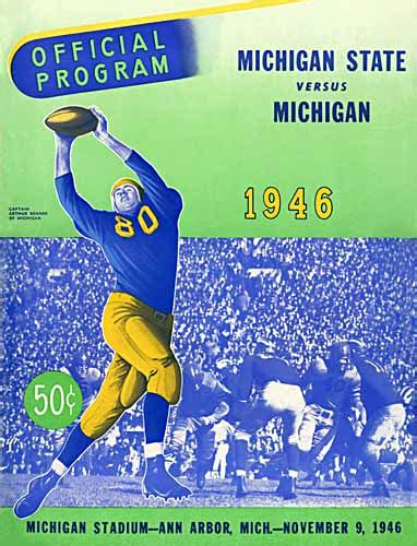 Michigan State Mba Programs by Of Michigan Athletics Football Program