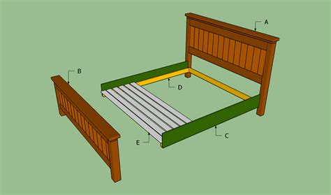How To Build A King Size Bed Frame Howtospecialist How How To Build A Bed Frame
