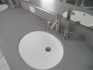 Custom Kitchen Sinks - bath silverthorne homebuilders gray corian vanity top with integrated corian bowl seamless