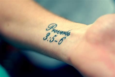 trust wrist tattoo proverbs 3 5 6 this is my scripture i want to get it