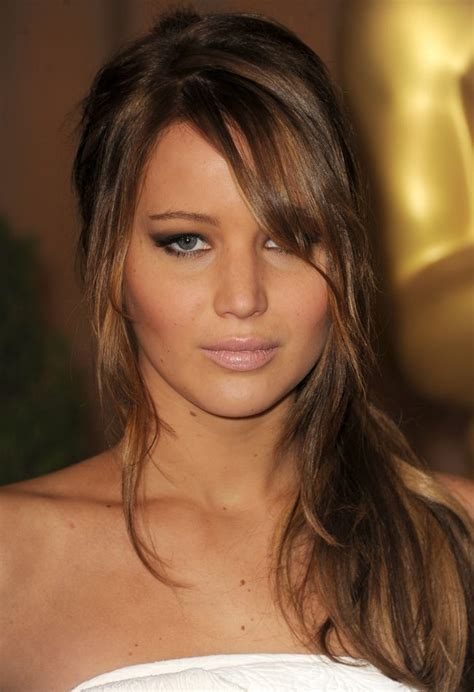 jennifer lawrence hair colors for two toned pixie brunette bombshell jennifer lawrence hair celebrity