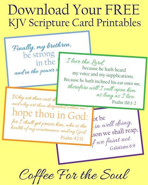 printable card verses free kjv scripture card printables free printables