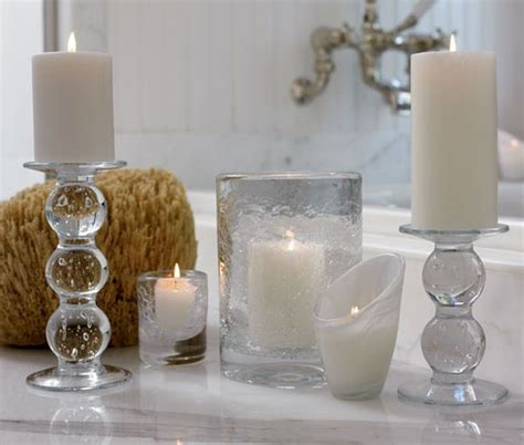 Bathroom Decorating Accessories decorate with candles in every room