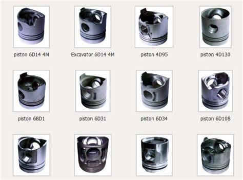 Spare Part Alat Berat Loader Solenoid Engine Stop piston
