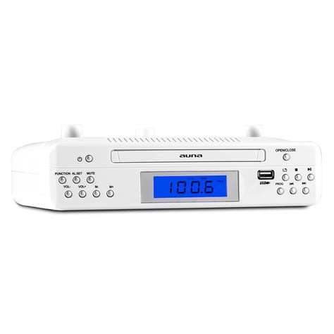 kitchen radios under cabinet under cabinet kitchen clock radio cd stereo fm ipod iphone