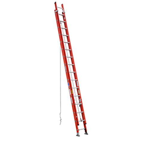 fiberglass extension ladder 32 rental the home depot