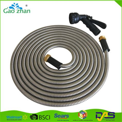 Garden Hose Resistant Resistant 14mm Metal Hose Magic Expandable