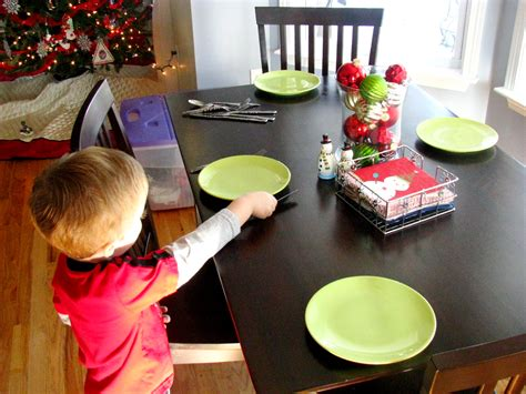 setting the table setting the table l is for learning