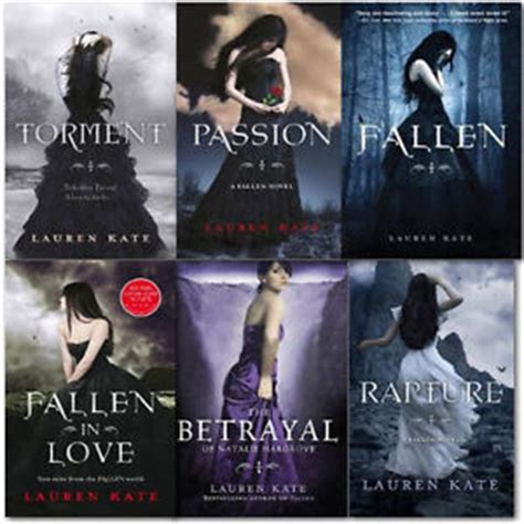 Novel Fallen Torment Kate kate 6 books collection set rapture fallen in