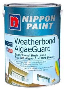 nippon paint weatherbond algaeguard nippon paint singapore