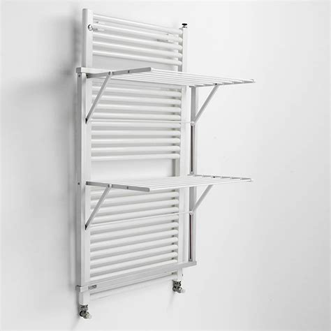 Laundry Drying Rack Wall Mount by Wall Mounted Wooden Laundry Drying Rack