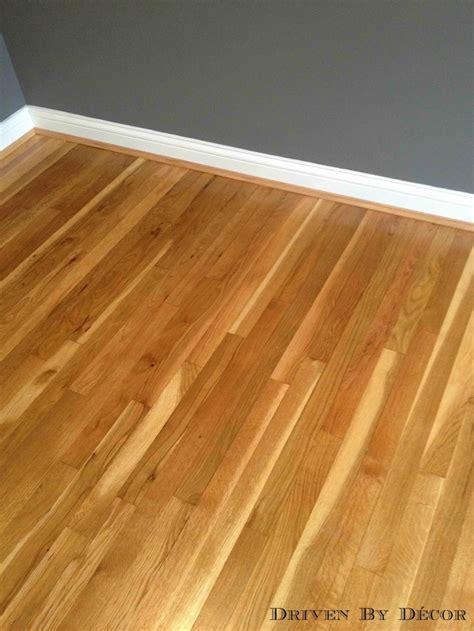 refinishing hardwood floors water based vs based