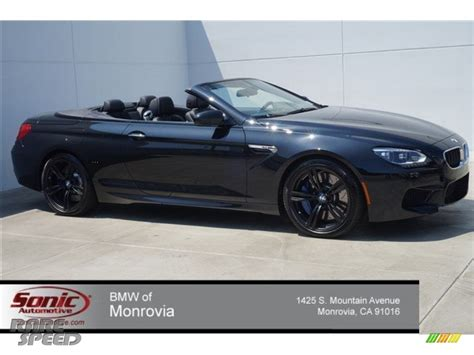 2015 Bmw M6 Convertible by 2015 Bmw M6 Convertible In Black Sapphire Metallic