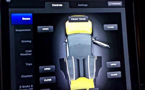 Door Controls by Tesla Model X Firmware 7 0 Features Exposed