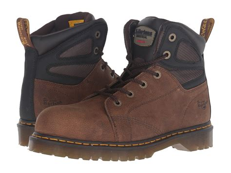 Dr Faris Leather Up Murah Pm 44 etounes gt boot g8342 ew steel toe leather brown work boot