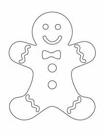 Gingerbread man gingerbread man free printable coloring pages