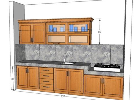 layout dapur yang baik mendesain kitchen set yang sempurna mebel jati minimalis