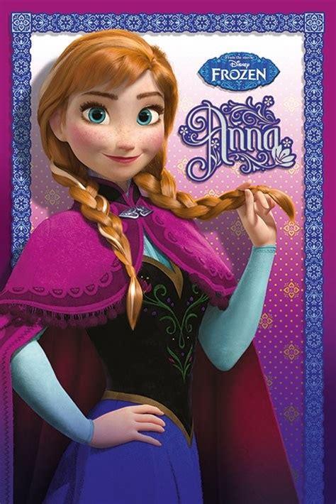 ganzer film elsa und anna la reine des neiges anna poster affiche acheter le
